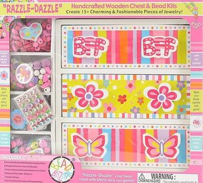 RAZZLE-DAZZLE ウッドチェスト&ハンドクラフト ビーズキット