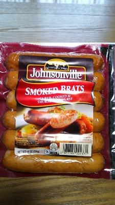 Johnsonville ジョンソンヴィル SMOKED BRATS スモークブラッツ