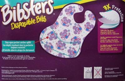 (名無し)さん[2]が投稿したBibsters Disposable Bibs セサミストリート ビブスター 紙スタイ よだれかけ 60枚の写真