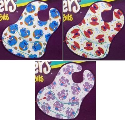 (名無し)さん[3]が投稿したBibsters Disposable Bibs セサミストリート ビブスター 紙スタイ よだれかけ 60枚の写真