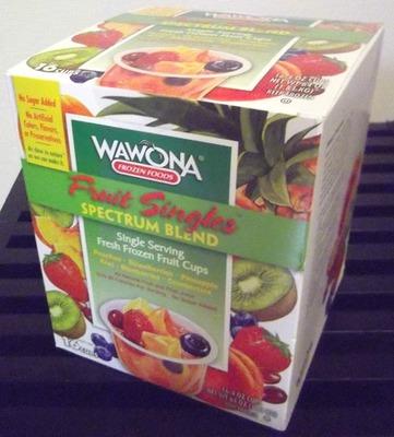 wawona(ワオナ) スペクトラムブレンド フルーツカップ