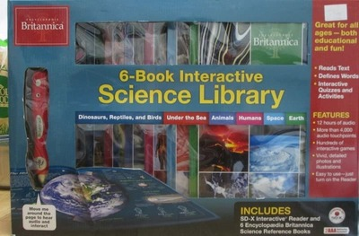 Encyclopaedia Britannica 6-Book Interactive Science Library