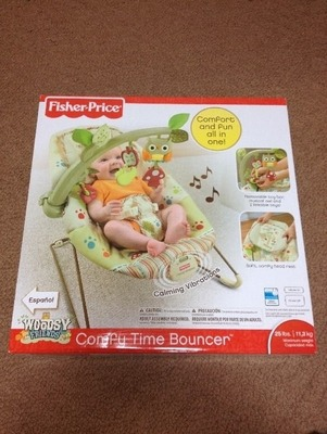 Fisher-Price バウンサー (Comfy Time Bouncer)