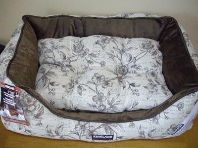 (名無し)さん[1]が投稿したカークランド CUDDLER PET BED (ペットベッド)の写真