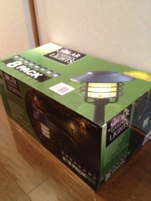 ALPAN GARDEN SOLAR LIGHT スティック形LEDソーラーライト
