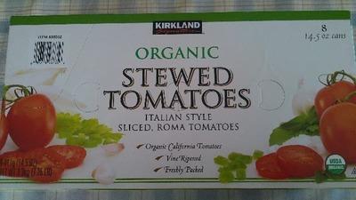 カークランド オーガニック シチュードトマト