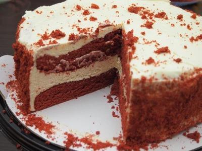 (名無し)さん[25]が投稿したカークランド レッドベルベットケーキの写真