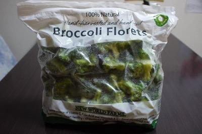 たまかれさん[1]が投稿したNEW WORLD FARMS  Broccoli Florets (冷凍ブロッコリー)の写真