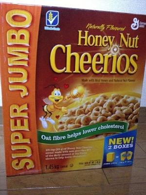 General Mills Honey Nut Cherrios ジェネラルミルズ チェリオス ハニーナッツ シリアル 725g×2
