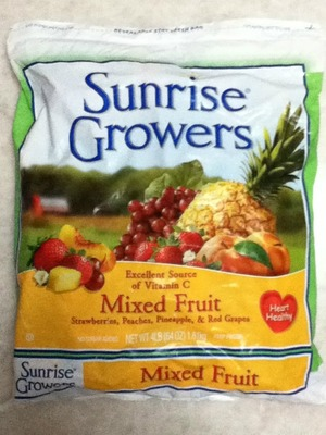 Sunrise Growers Mixed Fruit (カットフルーツミックス)