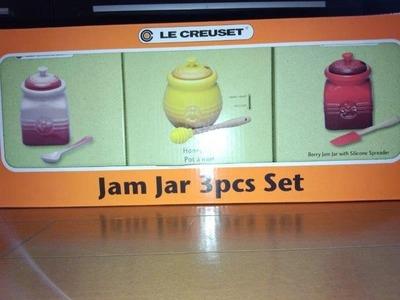 (名無し)さん[3]が投稿したルクルーゼ (LE CRUSET) ジャムジャー 3pcセットの写真