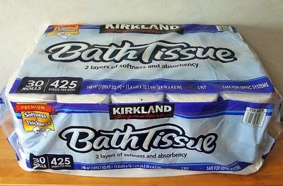 カークランド バスティッシュ Bath Tissue (トイレットペーパー)
