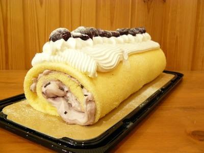 (名無し)さん[38]が投稿したカークランド 米粉のダークチェリーロールの写真