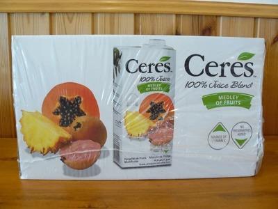 Ceres(セレス) メドレーオブフルーツ 1L×12