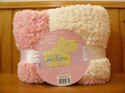 baby mellow リバーシブル ベビーブランケット