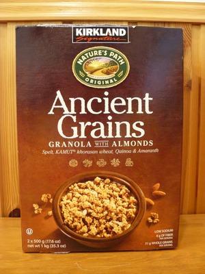 (名無し)さん[1]が投稿したカークランド Ancient Grains アーモンド グラノーラの写真