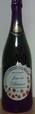 (名無し)さん[1]が投稿したジャン ドゥ ヴィルヌーヴ ノンアルコール スパークリングワイン (ミュスカ)の写真