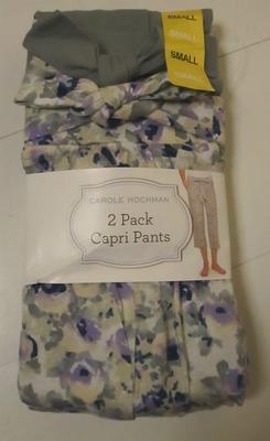 CAROLE HOCHMAN 2 Pack Capri Pants カプリパンツ ルームウエア パジャマ 2枚セット