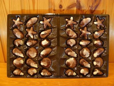 (名無し)さん[2]が投稿した貝殻 ベルギー チョコレート seashells Belgian Chocolatesの写真