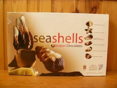 貝殻 ベルギー チョコレート seashells Belgian Chocolates