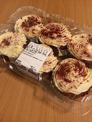 カークランド レッドベルベットカップケーキ