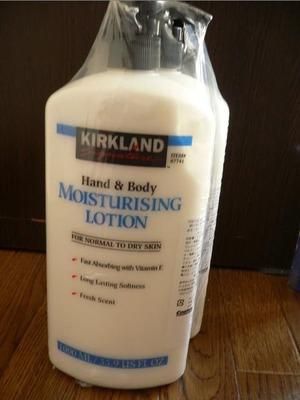 カークランド Hand&Body Moistureising Lotion