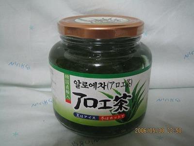オリオンジャコー株式会社 韓国直輸入アロエ茶(アロエ加工品)