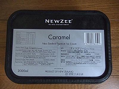 キャラメル ニュージーランドプレミアムアイスクリーム