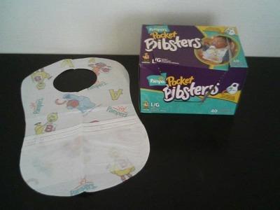 パンパース POCKET BIBSTERS(よだれかけ)