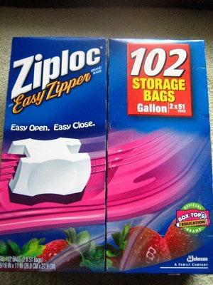 ジップロック(Ziploc) イージージッパー