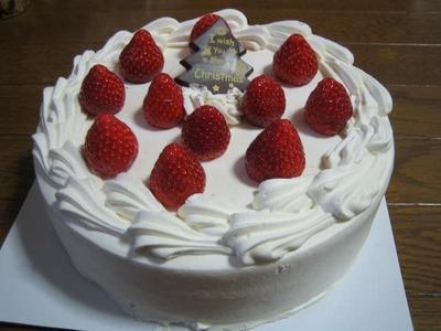 カークランド イチゴのクリスマスケーキ