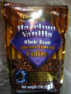 ZAVIDA COFFEE ヘーゼルナッツバニラホールビーンコーヒー