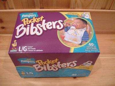 (名無し)さん[6]が投稿したパンパース POCKET BIBSTERS(よだれかけ)の写真