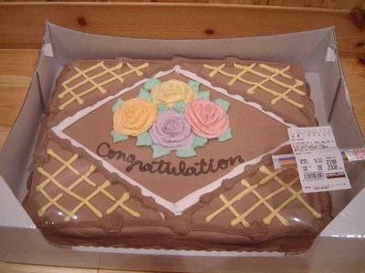 カークランド ハーフシート チョコレートケーキ
