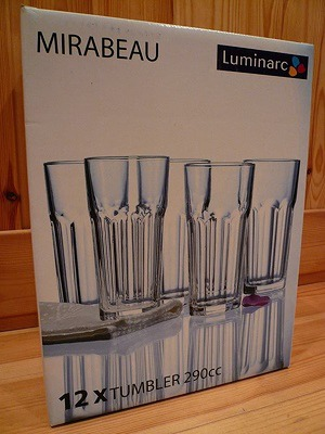 Luminarc(ルミナルク) MIRABERAU タンブラーセット