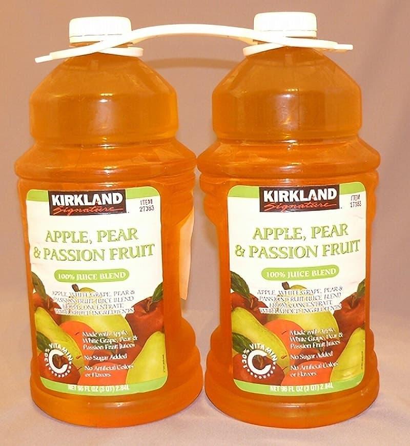 [2]が投稿したカークランド アップル&ペアー&パッションフルーツ ジュースの写真