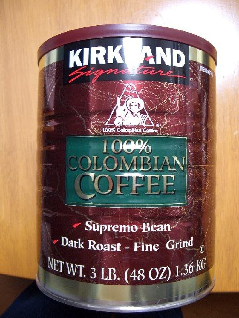 [2]が投稿したカークランド コロンビア レギュラーコーヒーの写真