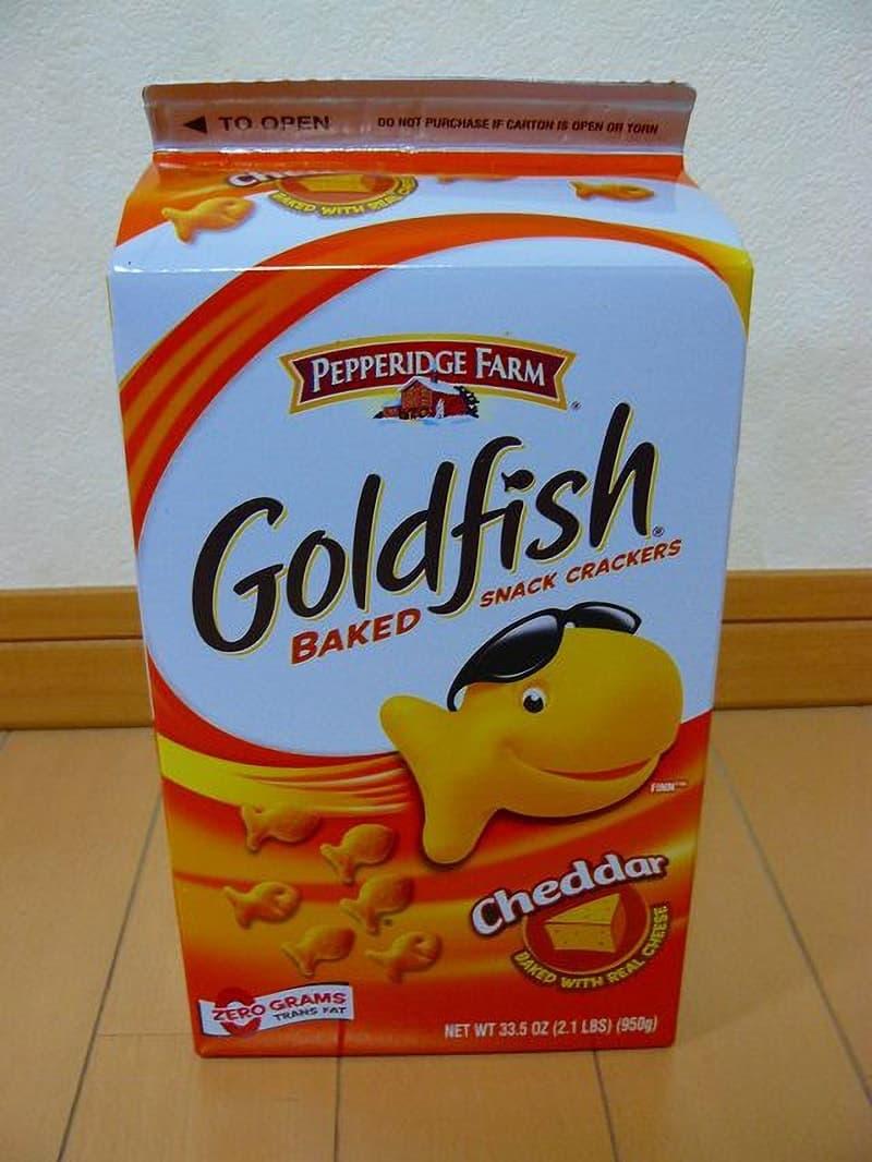 [2]が投稿したペパリッジファーム ゴールドフィッシュ チェダーチーズの写真