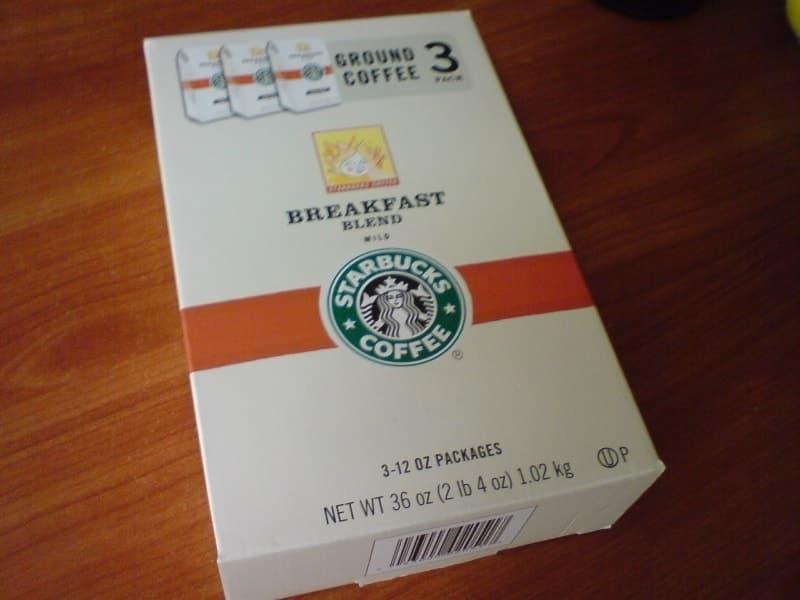 [3]が投稿したスターバックス ブレックファスト ブレンドコーヒーの写真