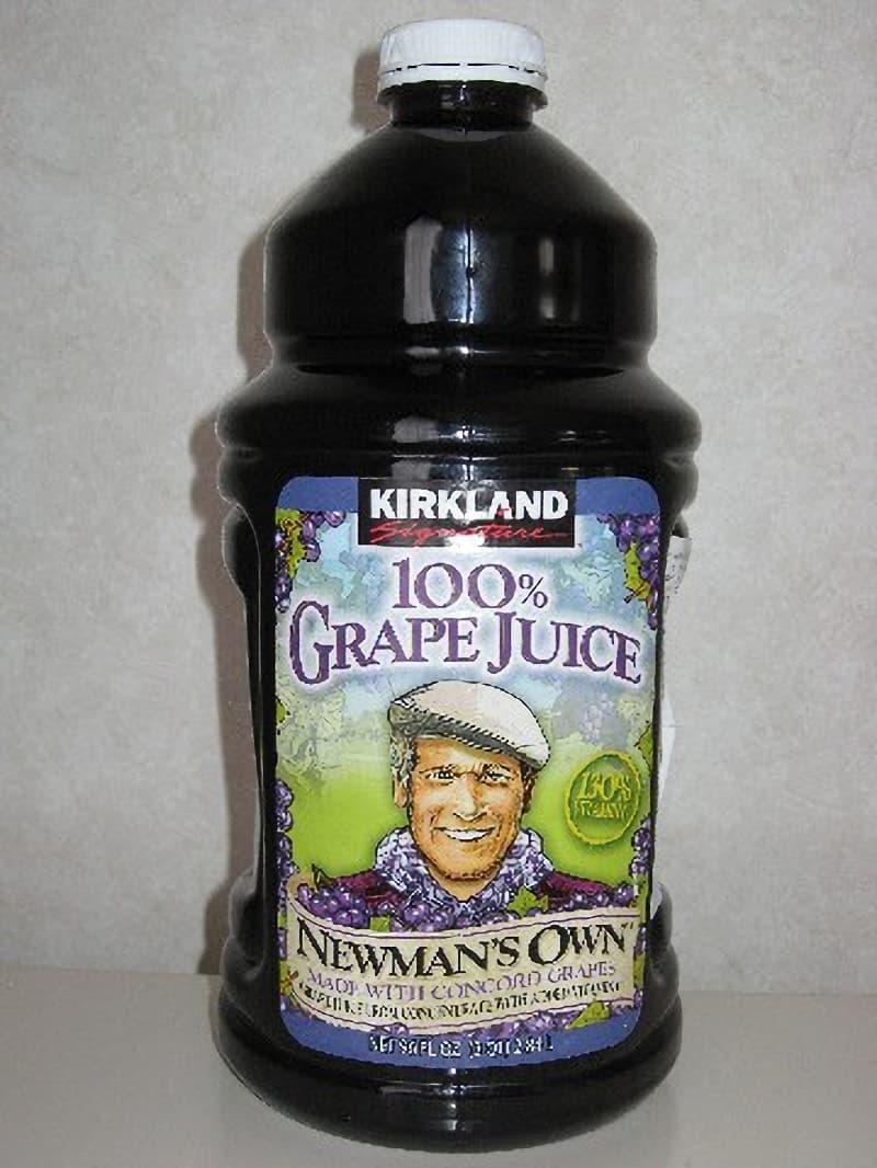 [2]が投稿したカークランド 100%グレープジュース(2本組)の写真