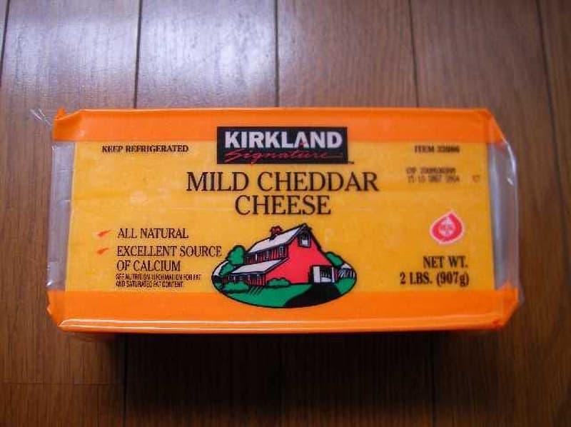 [2]が投稿したカークランド マイルドチェダーチーズの写真