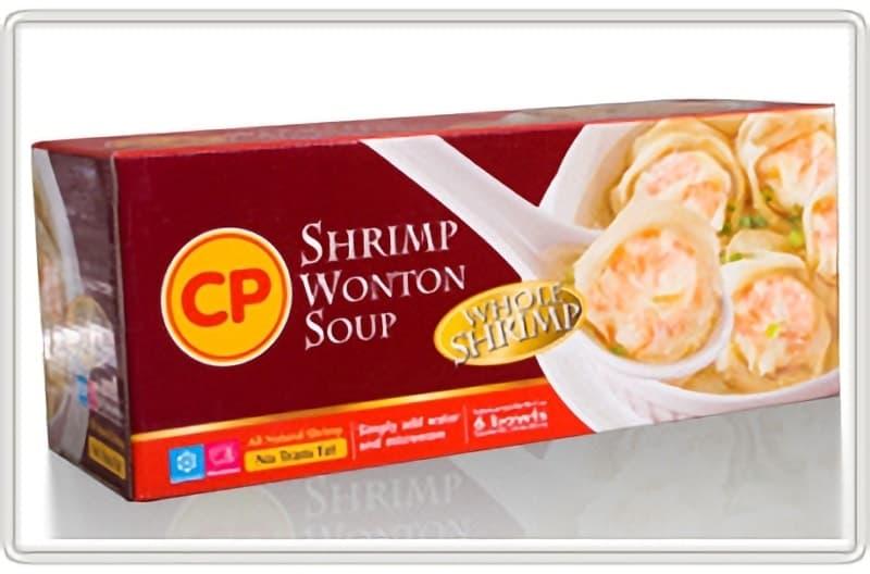 [2]が投稿したCP シュリンプ ワンタン スープ (Shrimp Wonton Soup)の写真