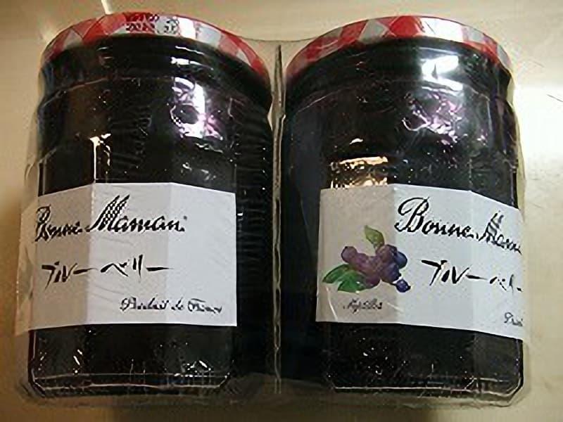[2]が投稿したボンヌママン ブルーベリージャムの写真