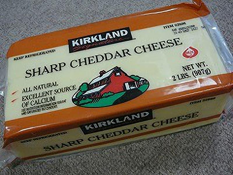 [2]が投稿したカークランド シャープホワイトチェダーチーズの写真