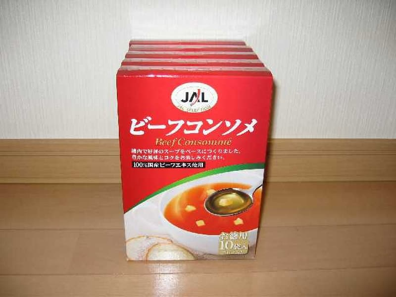[2]が投稿した明治製菓 JALビーフコンソメ 10袋入り×5箱の写真