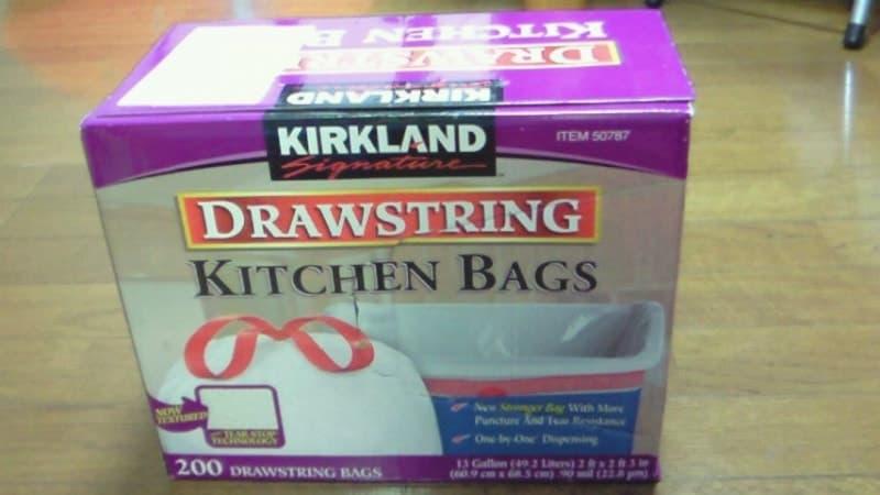 [2]が投稿したカークランド KITCHIN BAG  ひも付きポリ袋の写真