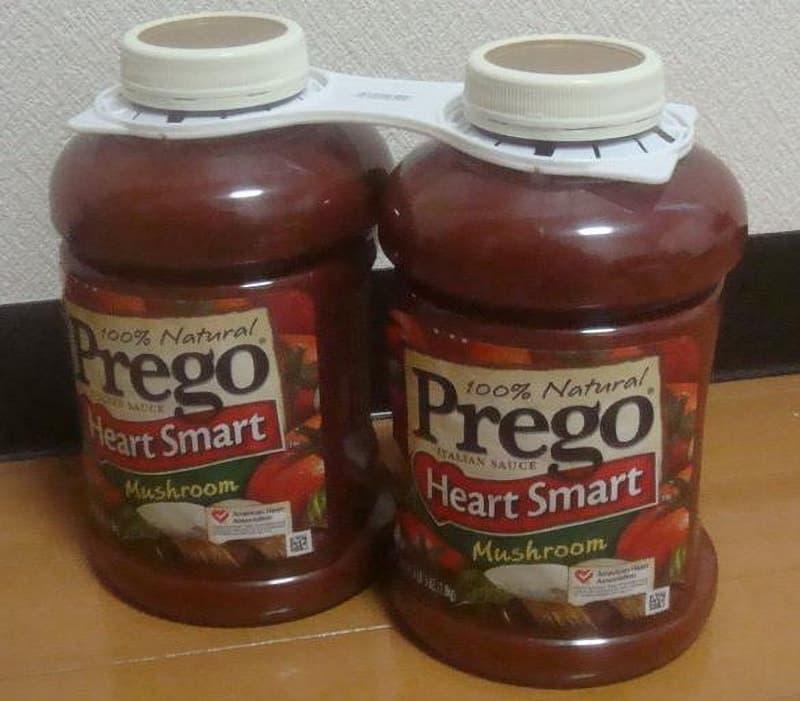 [2]が投稿したプレゴ(Prego) HeartSmart マッシュルーム パスタソースの写真