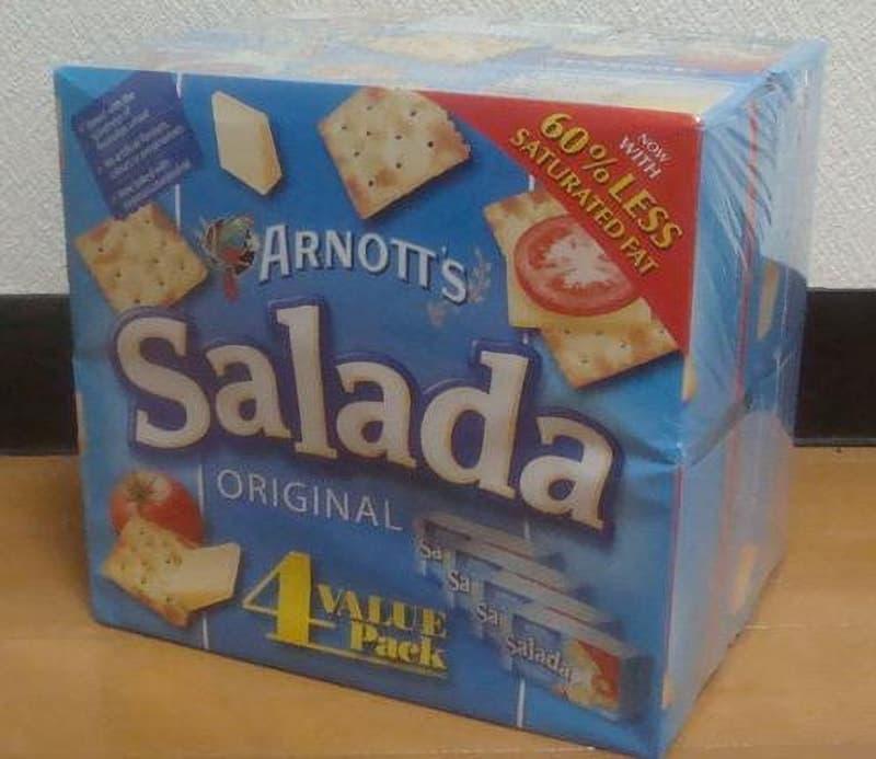 [2]が投稿したARNOTT'S アーノッツ サラダオリジナル バリューパックの写真