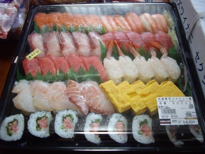 [8]が投稿したカークランド 寿司ファミリー盛の写真