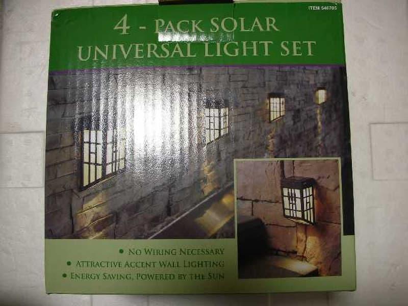 [2]が投稿した4個セット ソーラー ユニバーサル ライト セット (4-PACK SOLAR UNIVERSAL LIGHT SET)の写真